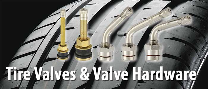 Tire Valves and Valve Hardware